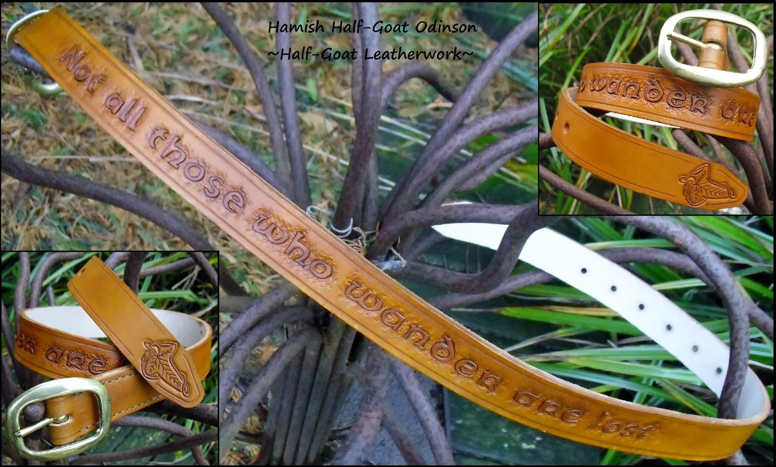 LOTR Tolkien Belt