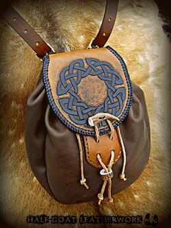 Knotwork Sporran Bag