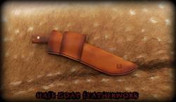 plain angled sheath