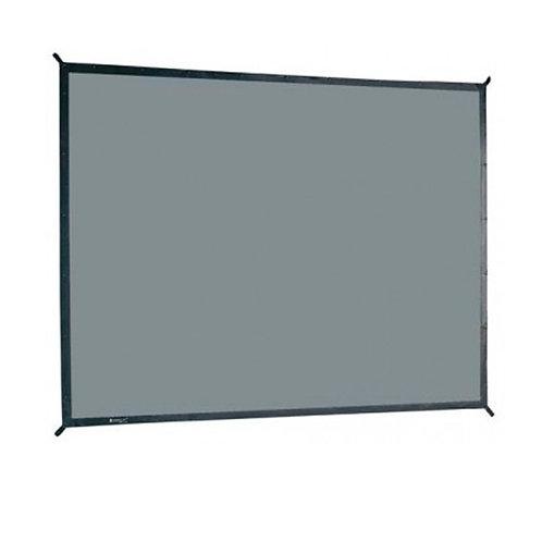 Ecran de projection valise 4,06 x 3,05m, format 4:3, Toile Avant