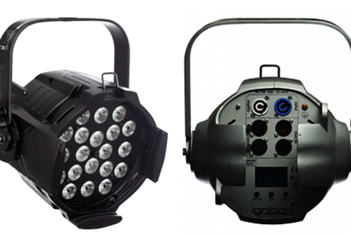 IGNITION Studio Par PLATINUM black 18x4W LED RGB+WW