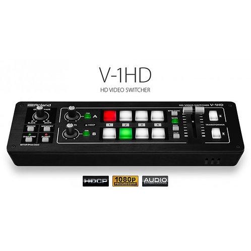 MIXEUR VIDEO HDMI ROLAND V-1HD - MELANGEUR VIDÉO