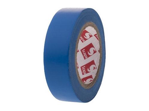 SCAPA • 100 ROULEAUX PVC BLEU 15MM X 10M