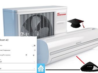שליטה על מזגן IR עם Home Assistant ו-Broadlink