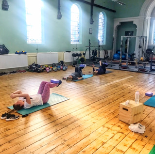 Pilates Class @ No Gym Required