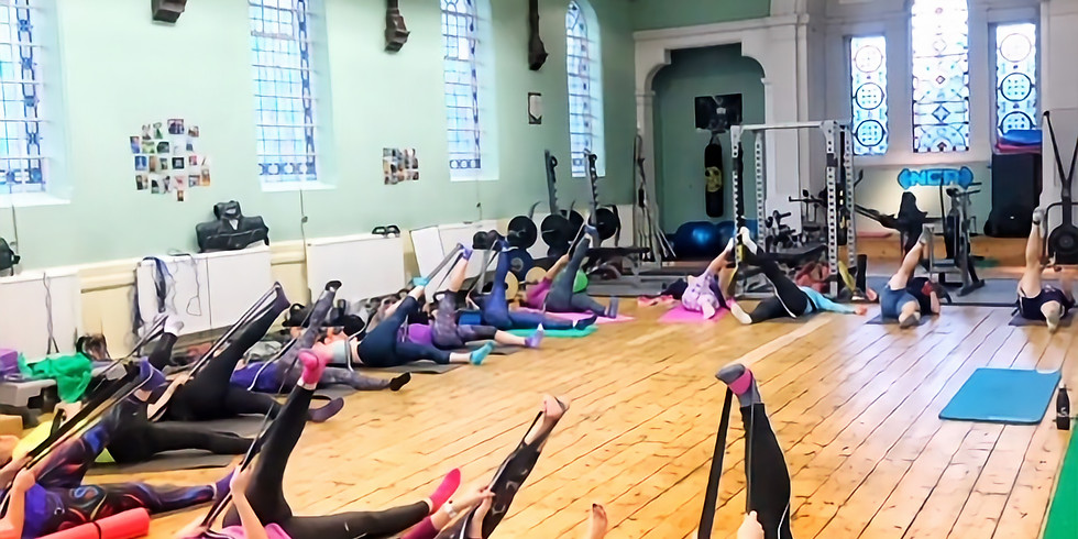Pilates for Runners Workshop 3.30pm - 4.30pm