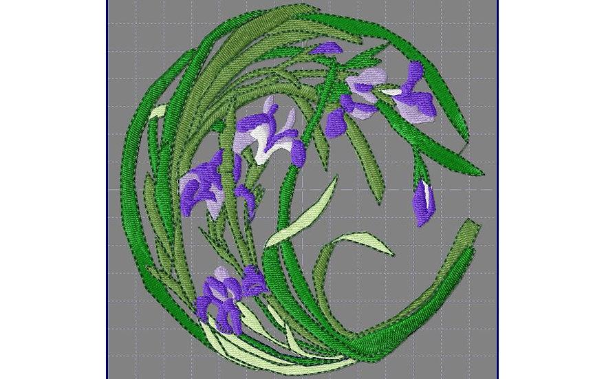fleur art nouveau 2