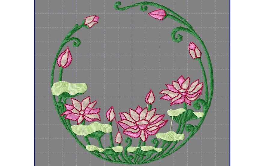 fleur art nouveau 3