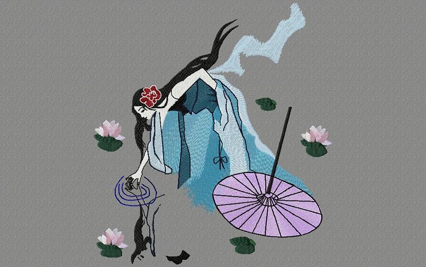 japonaise ombrelle