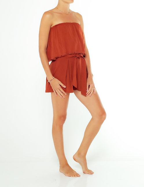 Coconut Shell Tube Top
