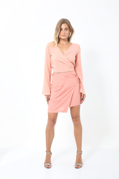 Dahlia Mini Wrap Skirt