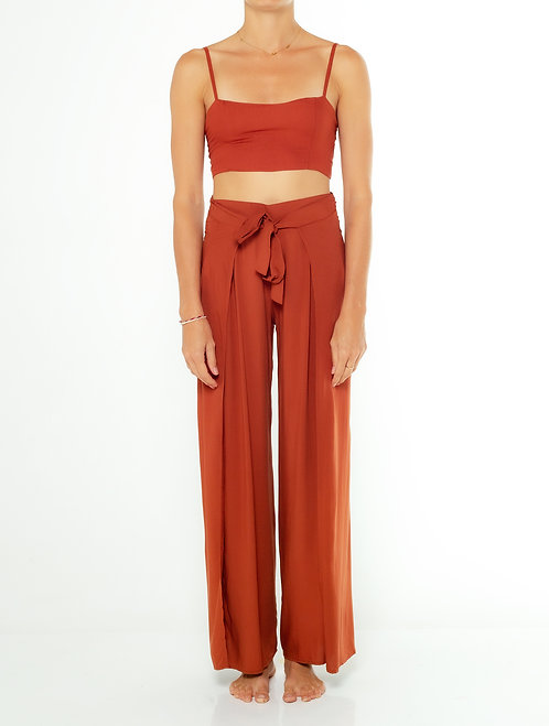 Coconut Shell Cropped Top