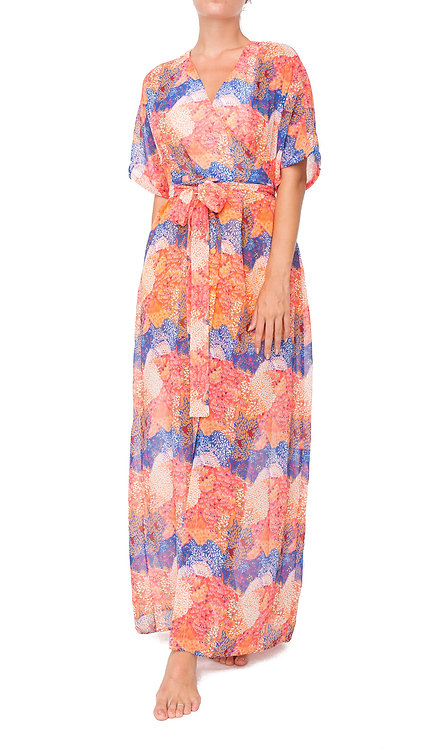 Sierra Tied Maxi Dress