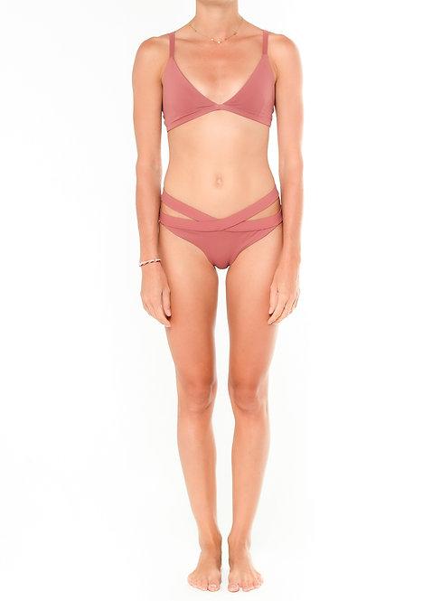 Melrose Double Strap Bikini Top