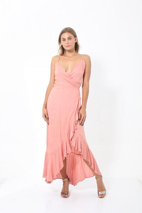 Dahlia Wrap Maxi Dress