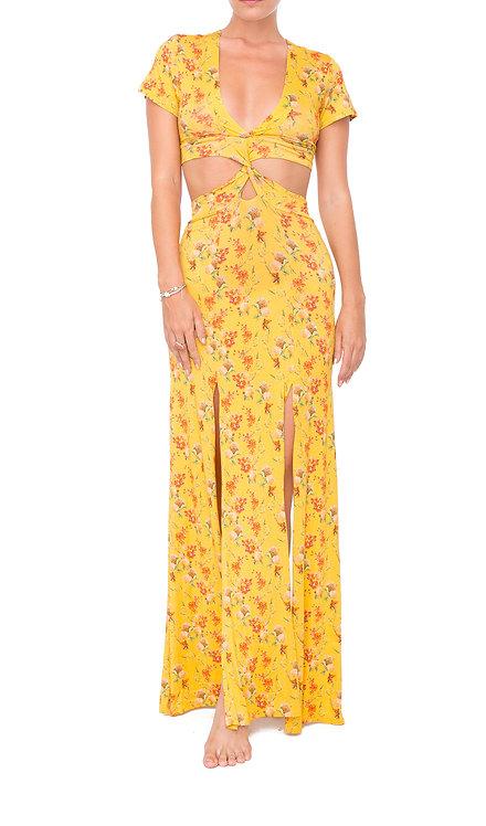 Hydrangea Twisted Dress