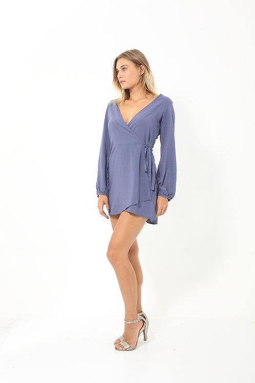 Indigo Mini Dress
