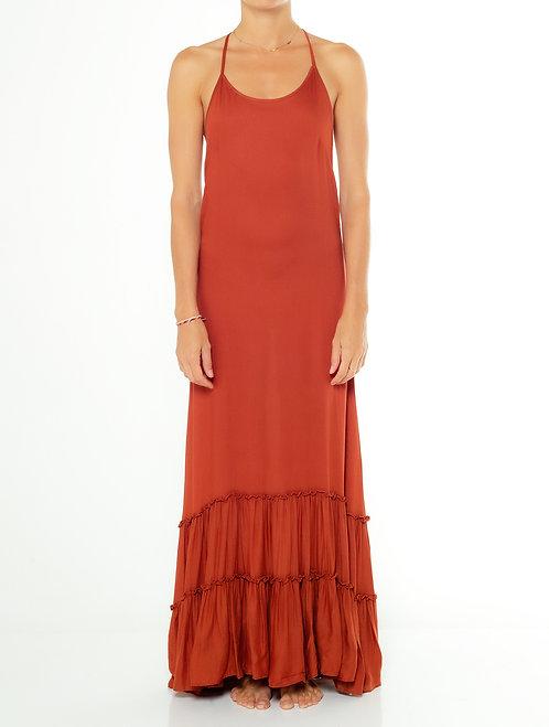 Coconut Shell Halter Dress
