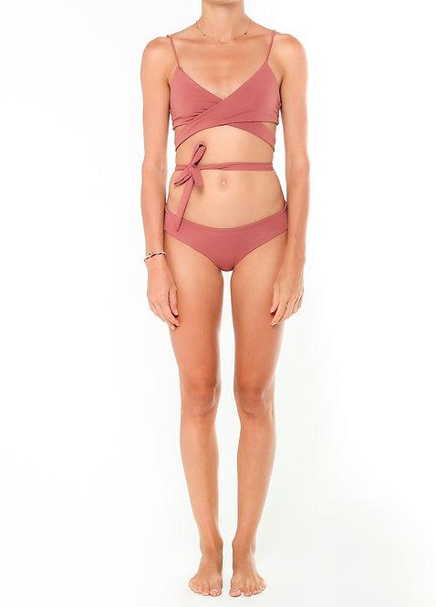 Melrose Wrap Bikini Top