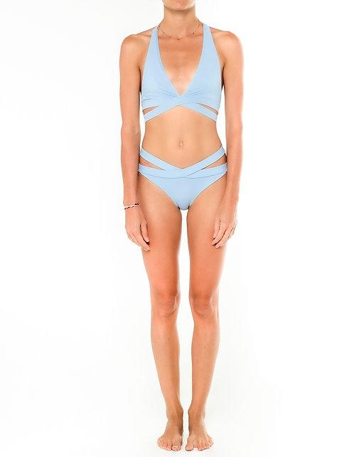 Ash Crisscross Bikini Bottom