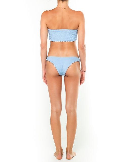 Ash Shirred Bikini Bottom