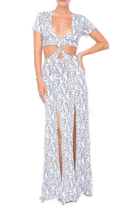 Wild Flower Twisted Dress