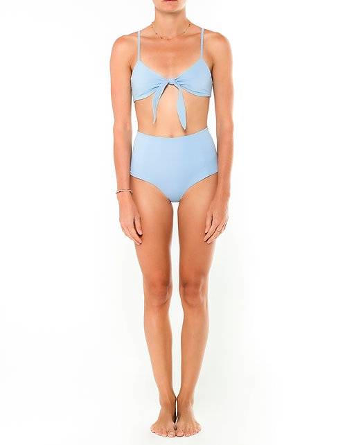 Ash Front Tie Bikini Top