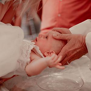 Le baptême de Louise