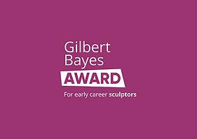 Gilbert Bayes Award StraplineCMYK White