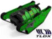 robô de inspeção e limpeza;TLDX; PMOC;
