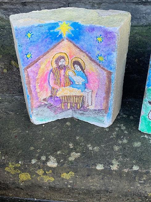 Christ Church Christmas 2020 Painted Nat
