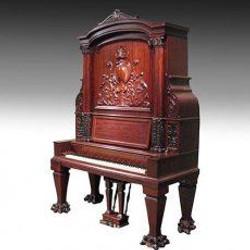 Rare upright piano