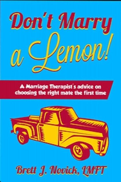 Don't Marry a Lemon