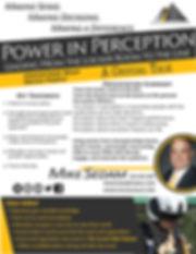 Power in Perception Sports Leadership Ke
