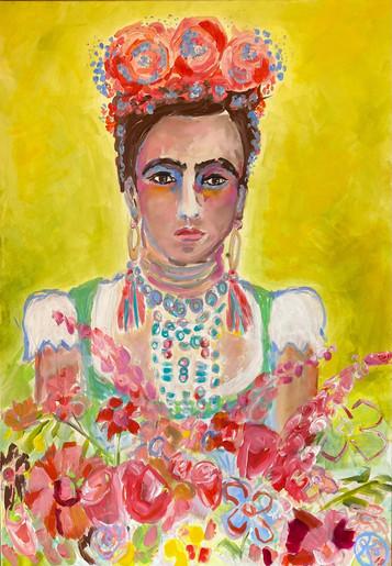 Suse_Kohler_Art_Bayrische Frida, 100 x 70.jpg