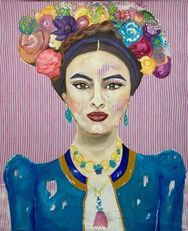 Suse_Kohler_Art_Turquoise Frida, 160 x 140.jpg