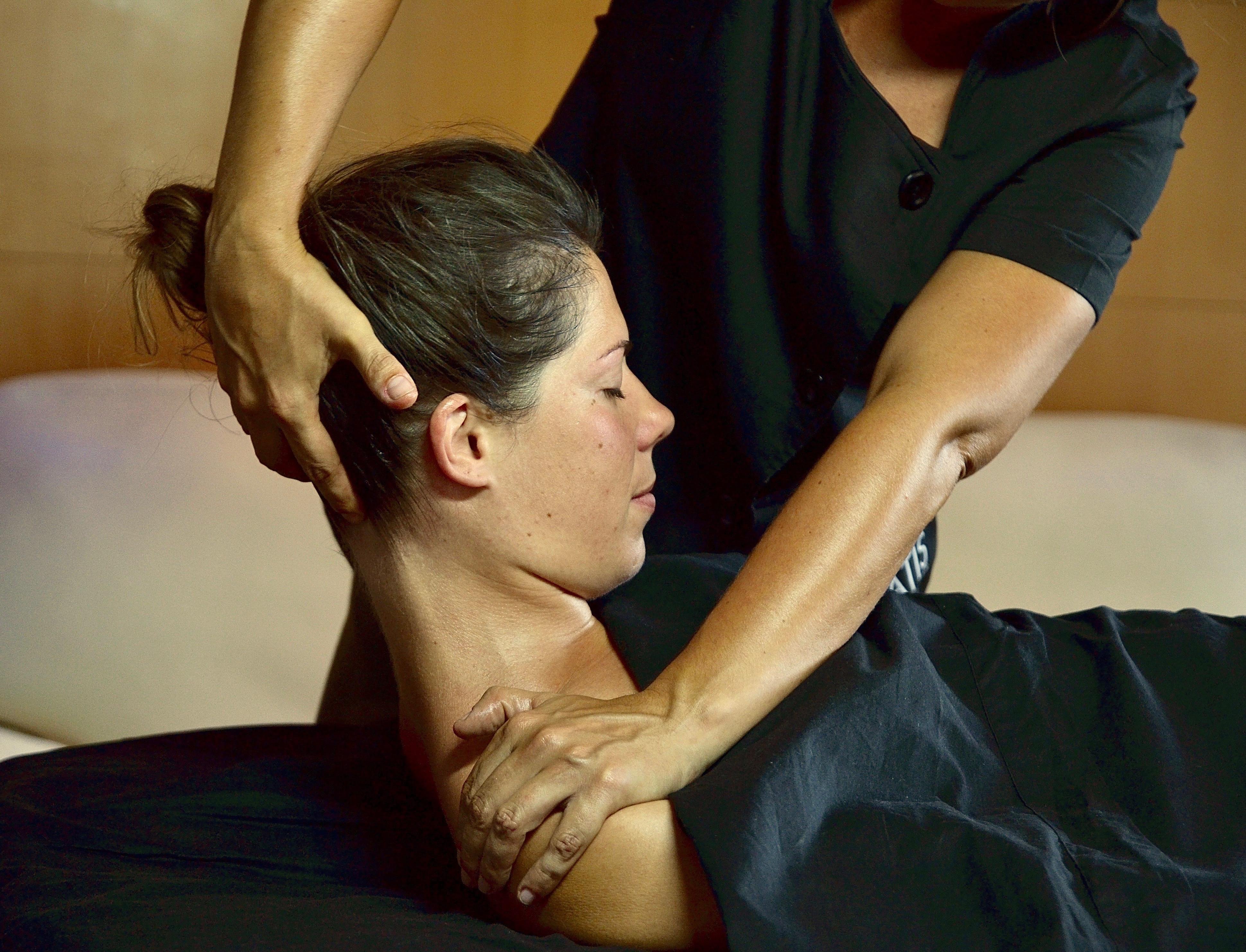 Le massage haut du corps 1h