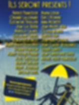 Liste es auteurs de l'édition 2018 du festival De Pages en Plages
