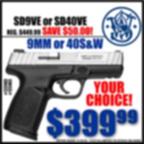 S&W SD9VE/SD40VE