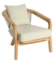 2020 Borek teak Chepri lounge chair 5682