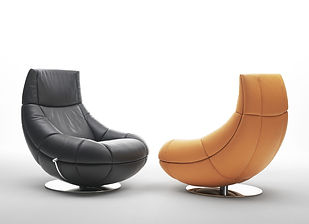 Lounge chair DS 166 with marvelous comfort