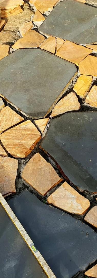 Bluestone and granite