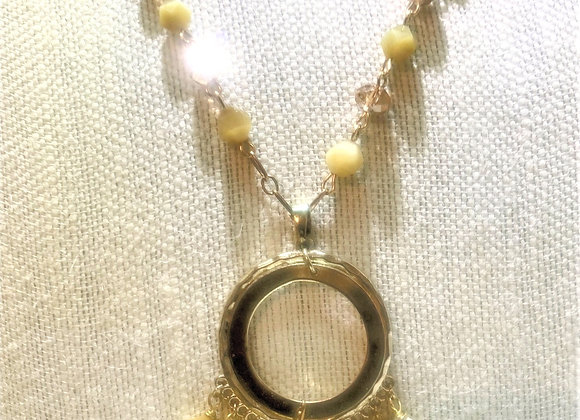 Circle of Dangles Necklace