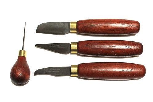 Leathercraft Essentials Set - Padauk Collection