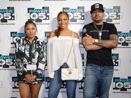 Angelina joins the Breakfast Club on Power 105.1!