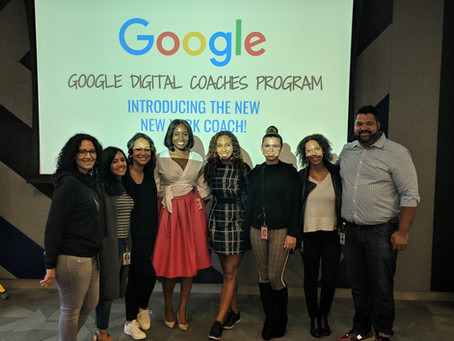 Francilia Wilkins-Rahim, the new New York Google Digital Coach!