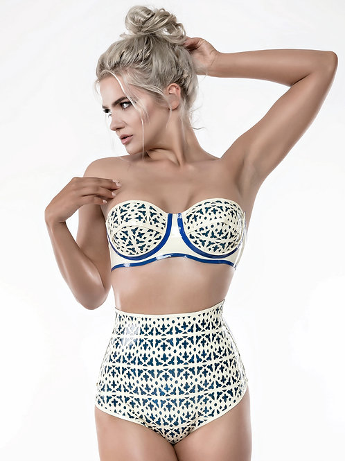 The Launch Laser Cut Strapless Bra