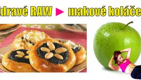 Zdravé RAW makové koláče