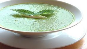 Špenátová polévka z cukety - pro radost