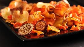 Zeleninové chipsy - při hubnutí